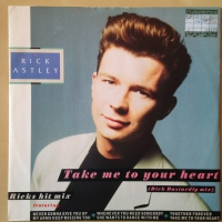 Miniat�ra obr�zku produktu 'RICK ASTLEY - TAKE ME TO YOUR ...'